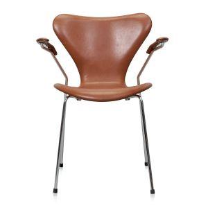 Arne Jacobsen Syveren 3207 Legance Cognac Anilin