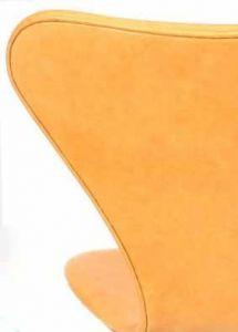Polstring Arne Jacobsen 7:an stol (Modell 3107) - Natur Anilin Läder
