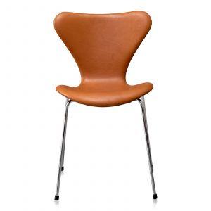 Arne Jacobsen Sjuan 3107 Alaska Cognac Anilin
