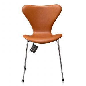 NY Arne Jacobsen 3107 Alaska Cognac Anilin