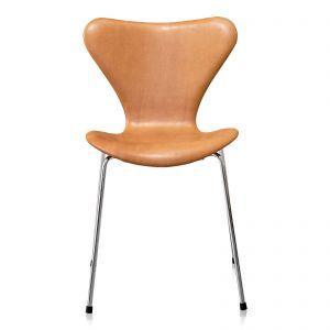 4 stk. Arne Jacobsen Syveren 3107 Vacona Nougat Anilin