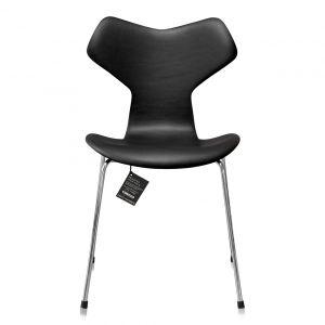 NY Arne Jacobsen Grand Prix 3130 Alaska Sort Anilin