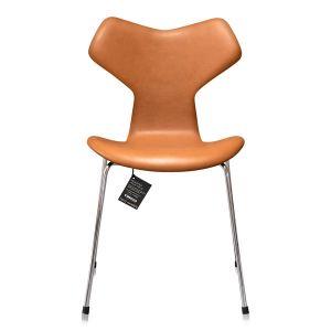 NY Arne Jacobsen Grand Prix 3130 Classic Cognac Semi Anilin