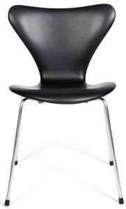 Arne Jacobsen 3107 Classic Sort Semi Anilin