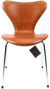 NY Arne Jacobsen 3107 Legance Cognac Anilin