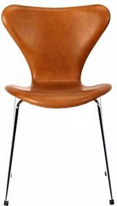 Arne Jacobsen Syveren 3107 Vacona Nougat Anilin