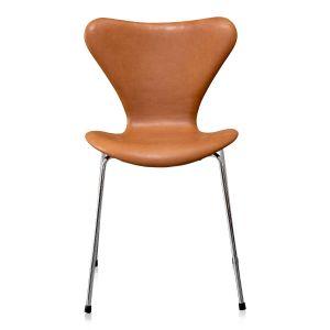 Arne Jacobsen 3107 Vacona Cognac Anilin