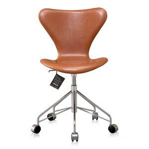 Ny! Arne Jacobsen 3117 legance cognac anilin