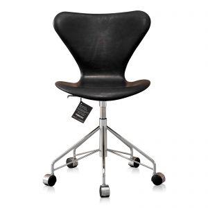 Ny! Arne Jacobsen 3117 Sort Vacona anilin