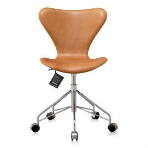 Ny! Arne Jacobsen 3117 Vacona Nougat anilin