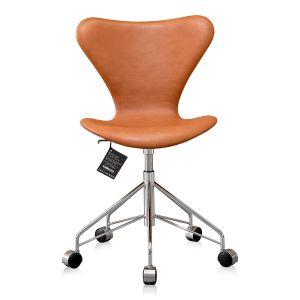 Ny! Arne Jacobsen 3117 Svart Vacona anilin