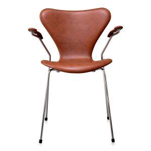 Arne Jacobsen 3207 Classic Brandy Semi Anilin