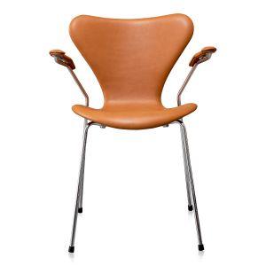 Arne Jacobsen 3207 Classic Cognac Semi Anilin