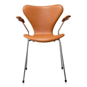 NY Arne Jacobsen 3207 Classic Cognac Semi Anilin
