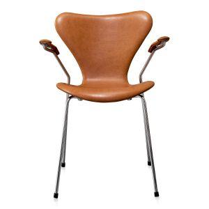 Arne Jacobsen 3207 Vacona Cognac Anilin