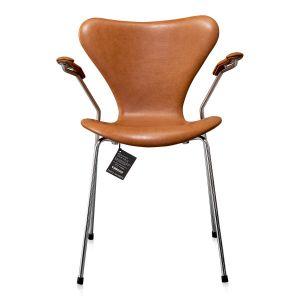 NY Arne Jacobsen 3207 Vacona Cognac anilin