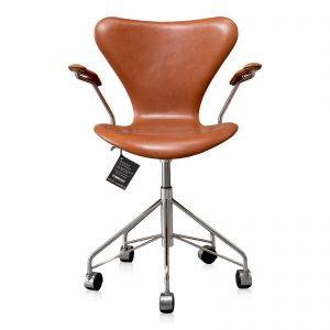 Ny! Arne Jacobsen 3217 legance cognac Anillin