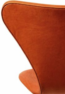 Arne Jacobsen 'Syveren' - Alaska Cognac Anilin