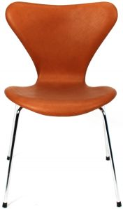 Arne Jacobsen Syveren 3107 Alaska Cognac Anilin