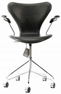 Ny! Arne Jacobsen 3217 Vacona sort Anillin