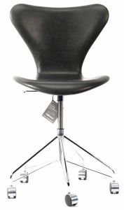 Ny! Arne Jacobsen 3117 Sort Vacona anilin