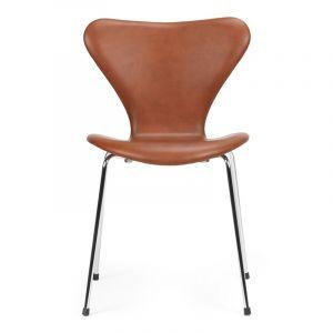 Arne Jacobsen Syveren 3107 Classic Brandy læder