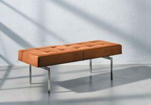 Re•Seat X1 Classic Cognac Semi Anilin Rustfrit Stål