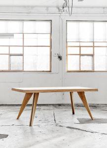 Dansk egetræ bord-1