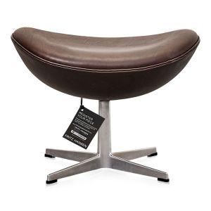 NY Arne Jacobsen Skammel 3127 Elegance Mocca Anilin