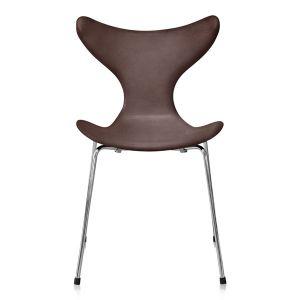 Arne Jacobsen Mågen 3108 Originalt Elegance Mocca Anilin