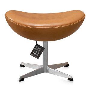 NY Arne Jacobsen Skammel 3127 Vacona Nougat Anilin