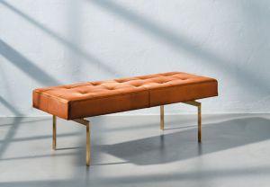 Re•Seat X1 Originalt Elegance Walnut Anilin Messing