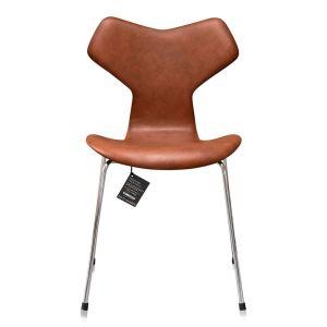 NY Arne Jacobsen Grand Prix 3130 Classic Brandy Semi Anilin