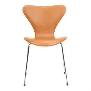 Arne Jacobsen Syveren 3107 Classic Cognac læder