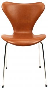 Arne Jacobsen 3107 Legance Cognac Anilin