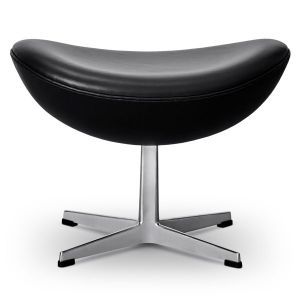 NY Arne Jacobsen Skammel 3127 Wellington Sort Anilin