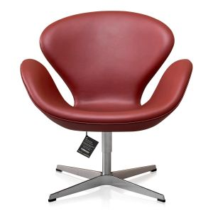 NY Arne Jacobsen Svanen Elegance Indian Red Anilin
