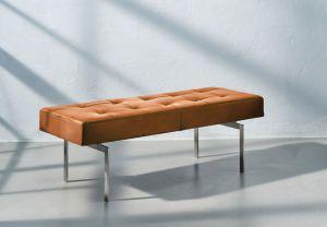 Re•Seat X1 Vacona Cognac Anilin Rustfrit Stål