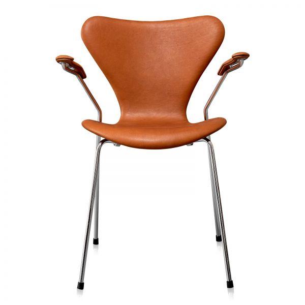 Arne Jacobsen Syveren 3207 Alaska Cognac Anilin